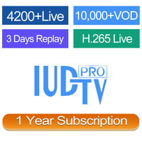 24 Hours Free Test Code IUDTV PRO IPTV Europe Account 1 Year Italy Germany UK Sweden Norway Channels