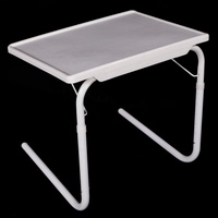 Small Desk Mate Foldable Table Folding Tablemate Adjustable Tray Smart Table