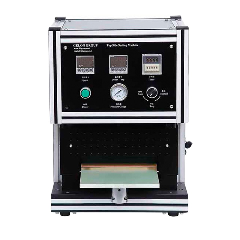Top & Side Heating Sealing Machine For R&D Lithium Ion Battery Pouch Cells with Vacuum Function