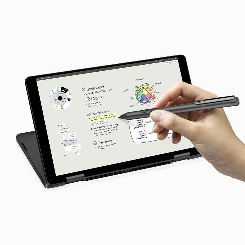 "8.4 ""नोटबुक i5 लैपटॉप फिंगरप्रिंट स्कैनर के साथ 360 डिग्री 2560 * 1600IPS जेब लैपटॉप 16 + 512GB गोली पीसी लेखनी कलम के साथ"