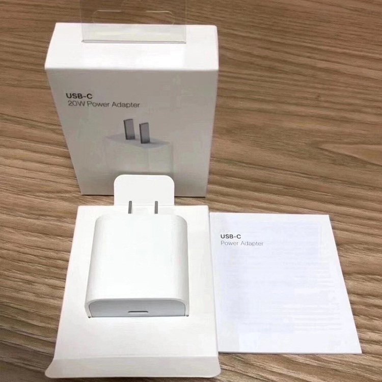 2020 New 20W PD USB-C Fast Charging Power Adapter 18W Type C Mobile Phones Charger For Apple Iphone 12 Mini Pro Max