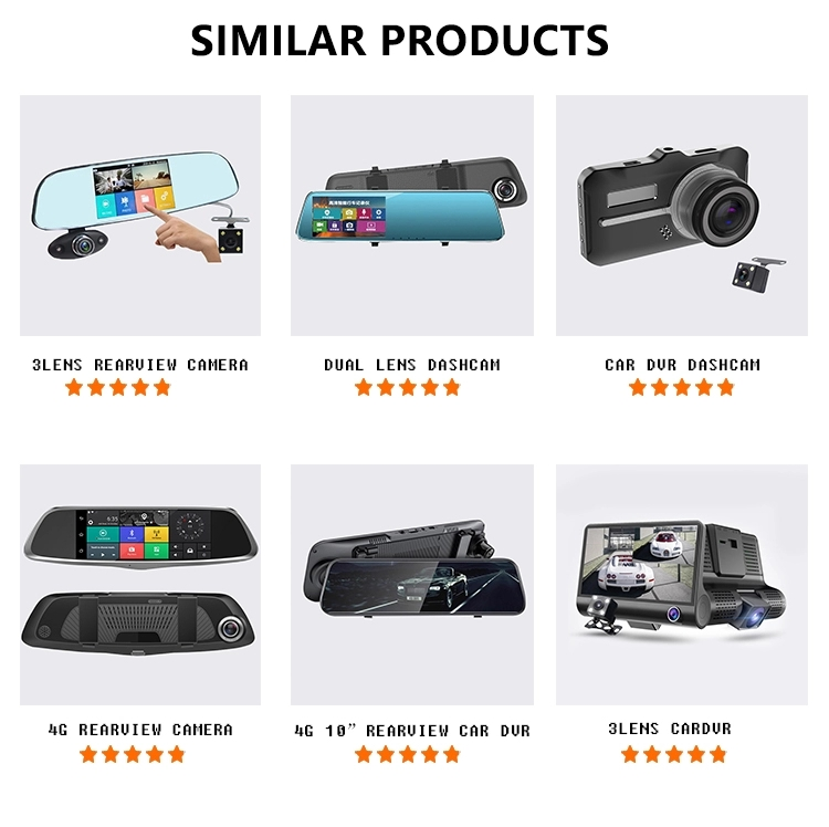 Car dvr mirror HD 1080p Car recorder Driving Security Dash camera