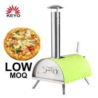 KEYO Wholesales Price Individual Outdoor Woodfire Fire Burining Wood Fired Pizza Oven