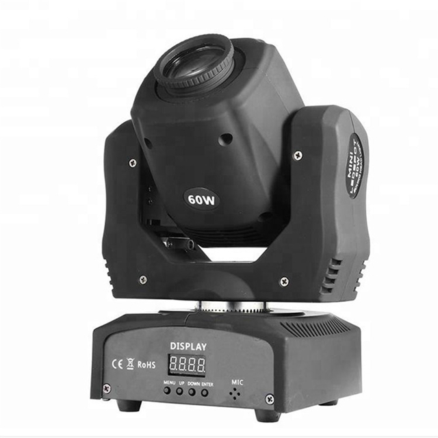 Cheap Price DJ Lighting DMX 60W Gobo Spot LED Moving Head Light Nightclub
