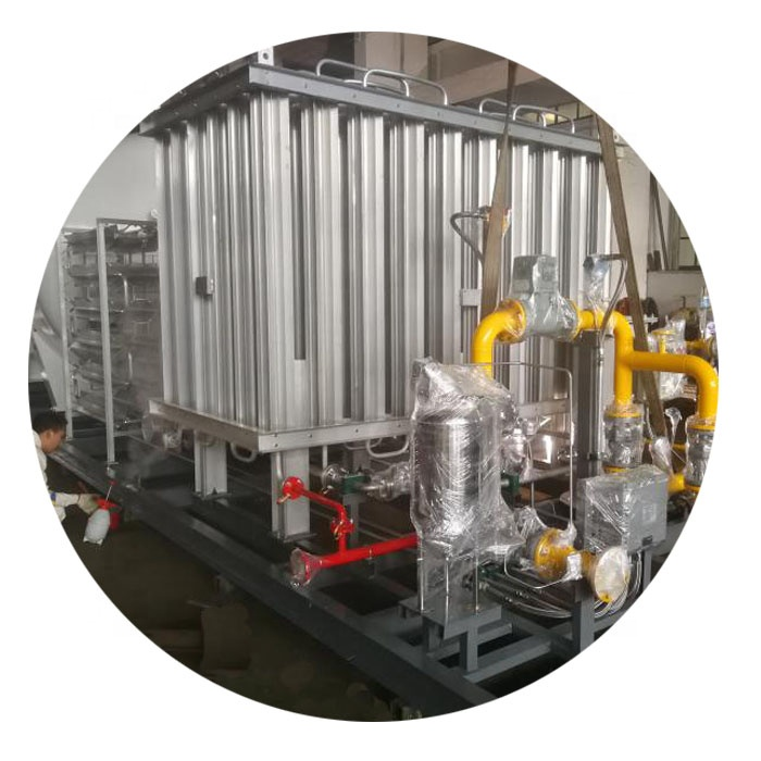 Liquid oxygen lng gasification liquido co2 vaporizador