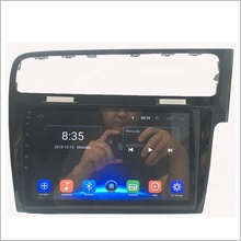 "10.1 ""Quad Core Full Touch Screen Car GPS Player de Rádio Android 9.0 Sistema Multimídia do carro Para Volkswagen VW Golf 7 RHD"