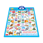 Voiced wall chart turkish language fruit kids poster
