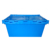 700x460x345mm plastic logistics moving boxes attached lid container