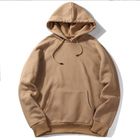 Factory direct supply thick hoodies mens sweatshirt women plain pullover hoodie with prices