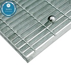 guangzhou building material galvanized steel grating weight drain grates covers/ heavy duty grating drainage gutter