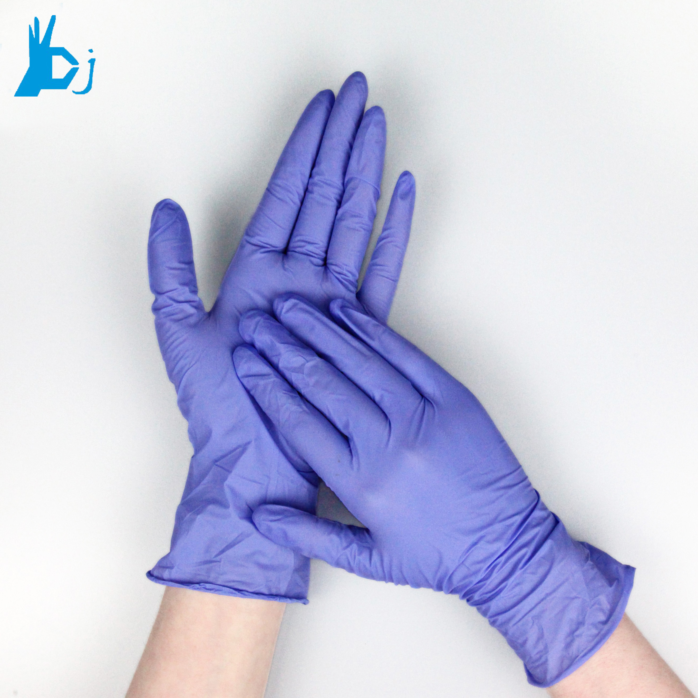 New products disposable nitrile gloves for hospital