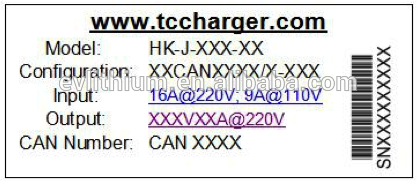 Tc Charger 48v Vehicle Charger 1.8kw on Board Battery Charger 4 X USB Electric ROHS 12V/1.5A 100-240V/0.8A QC2.0