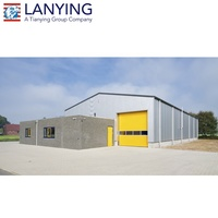 Quick Install Prefab Steel Structure Warehouse Workshop Plant Building