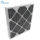 Customized MERV 8 Pleated AC Furnace Air Filter with Activated Carbon for AC HVAC and Furnace
