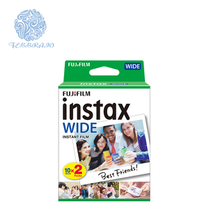 Fujifilm instax wide instant film 10 sheets of twin pack(20 exposures) for instax wide format cameras with white frame