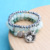 Animal Bird Bracelet For Women Natural Stone Grey Crystal Bracelets & Bangles Charm beads Bracelet