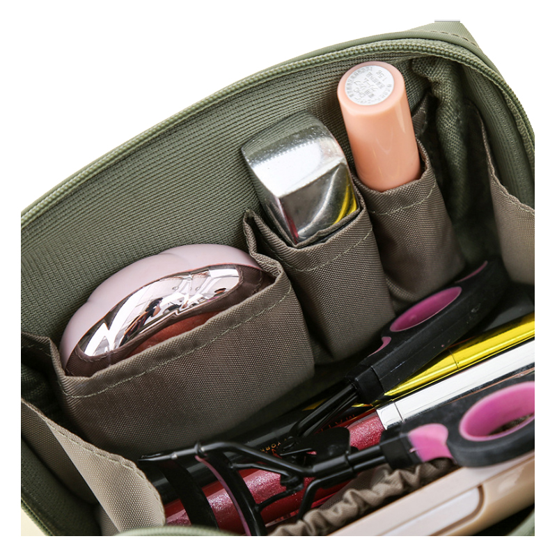 product-Personality Cosmetic Bag Women Makeup Pouch Toiletry Bag Fashion Necessaries Make up Organiz-1