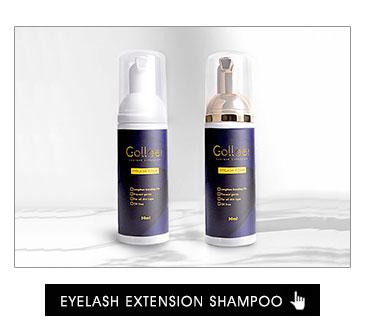 Gollee High Quality Mink Fiber Fake Volume Eyelash Private Label dense Eyelash Extension