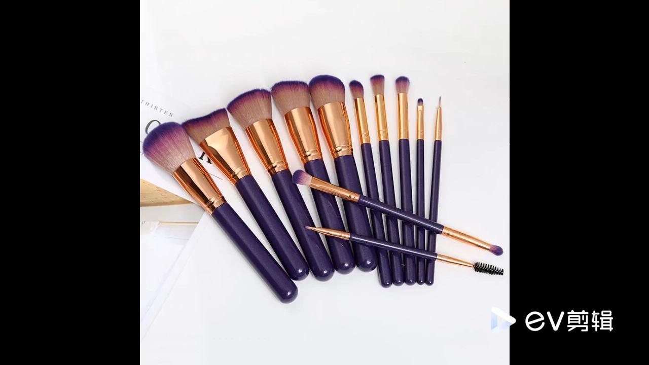 Наборы косметических инструментов для макияжа Профессиональные без этикеток индивидуальный набор кистей для макияжа