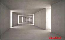 Bacaz 3D настенные фрески пространство расширение коридор тень фон росписи 3d гостиная ТВ фон 3d настенная бумага Декор стикер(Китай)