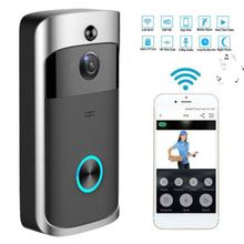 1080P Deurbel Camera Wifi Video Deurbel Camera Draadloze Video Deurtelefoon <span class=keywords><strong>Intercom</strong></span> HD Ring Wifi Deurbel Camera voor appartementen