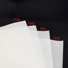 80gsm Paper White Release Paper China 80gsm White Yellow Sheet Single Side Silicon Glassine Paper Roll