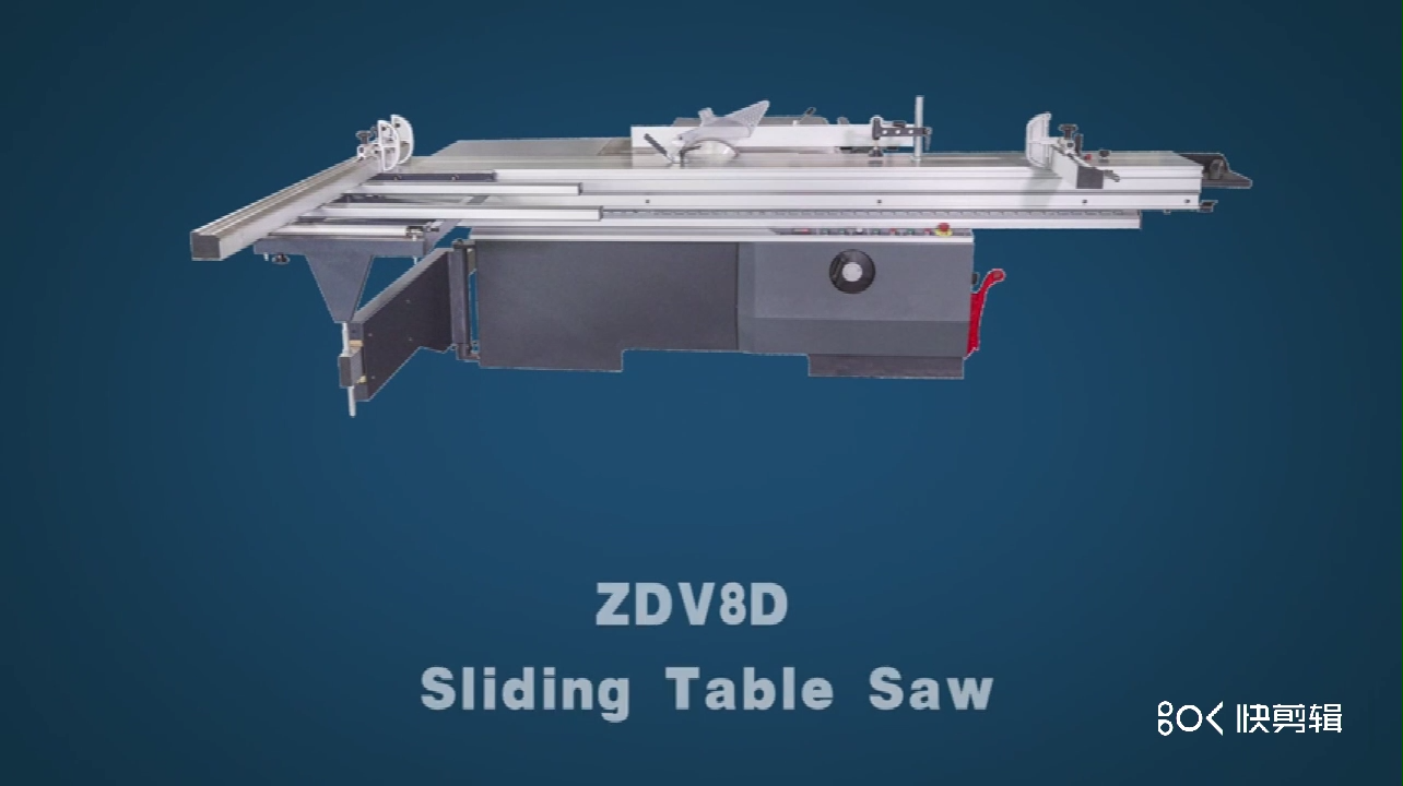Woodworking Machinery 45 degree Cutting Sliding Table Panel Saw