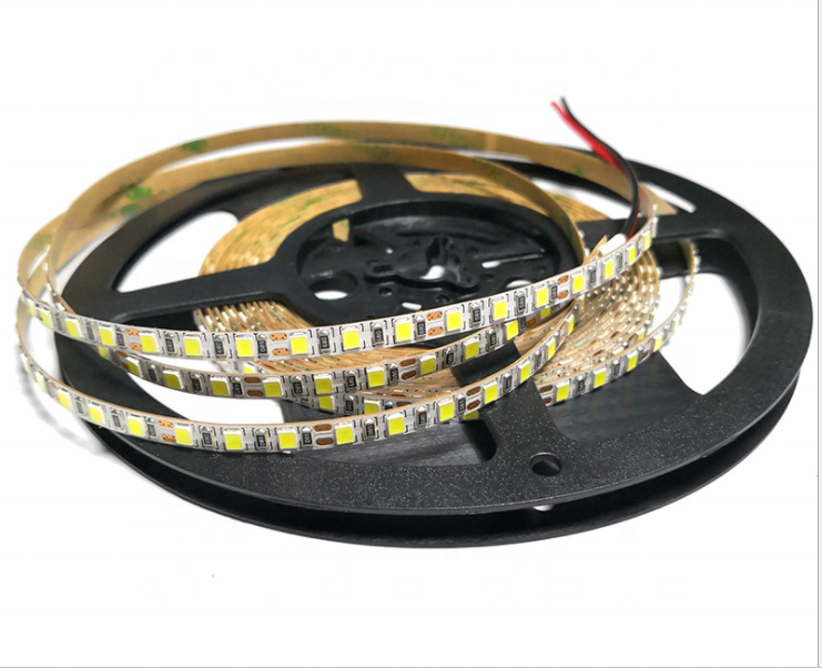 best quality smd2835 5mm 5V 12V 120LED white color led strip light