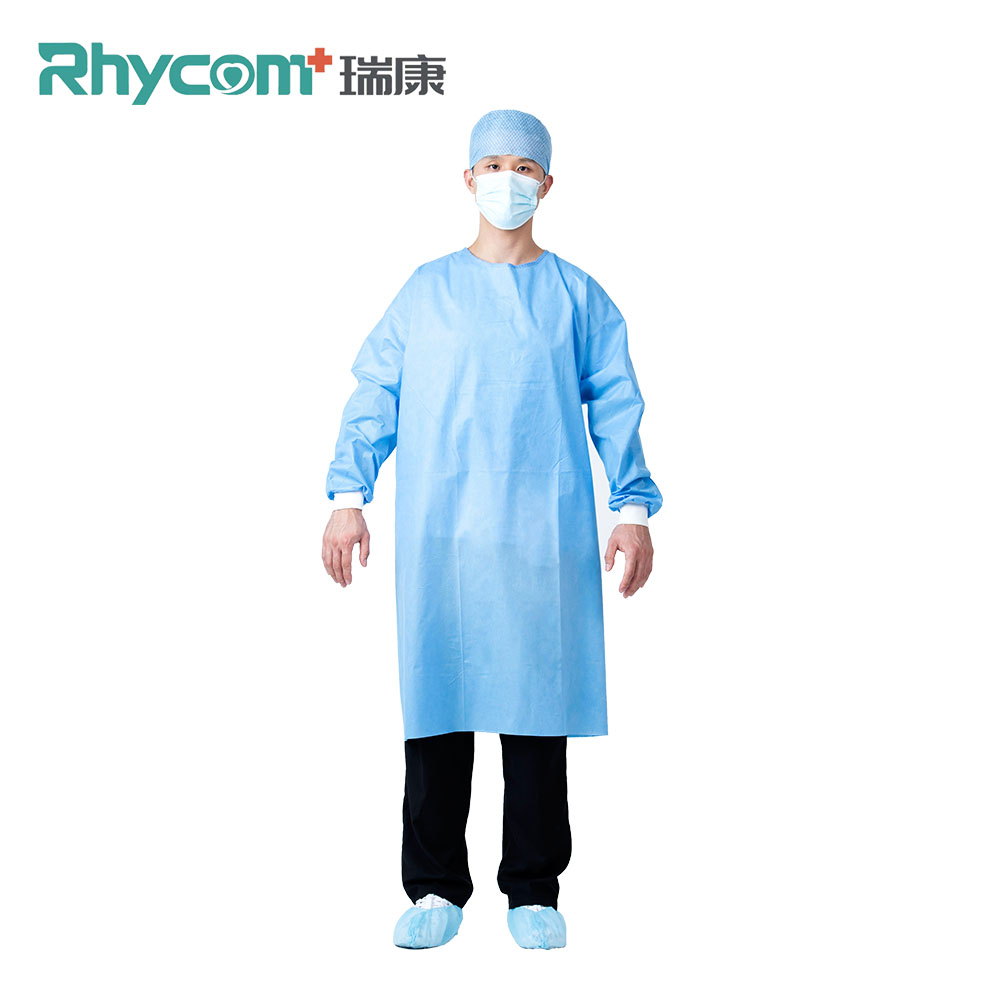 Rhycom 35G Level 2 Surgical Gowns High Quality Double Stitch Surgical Gown