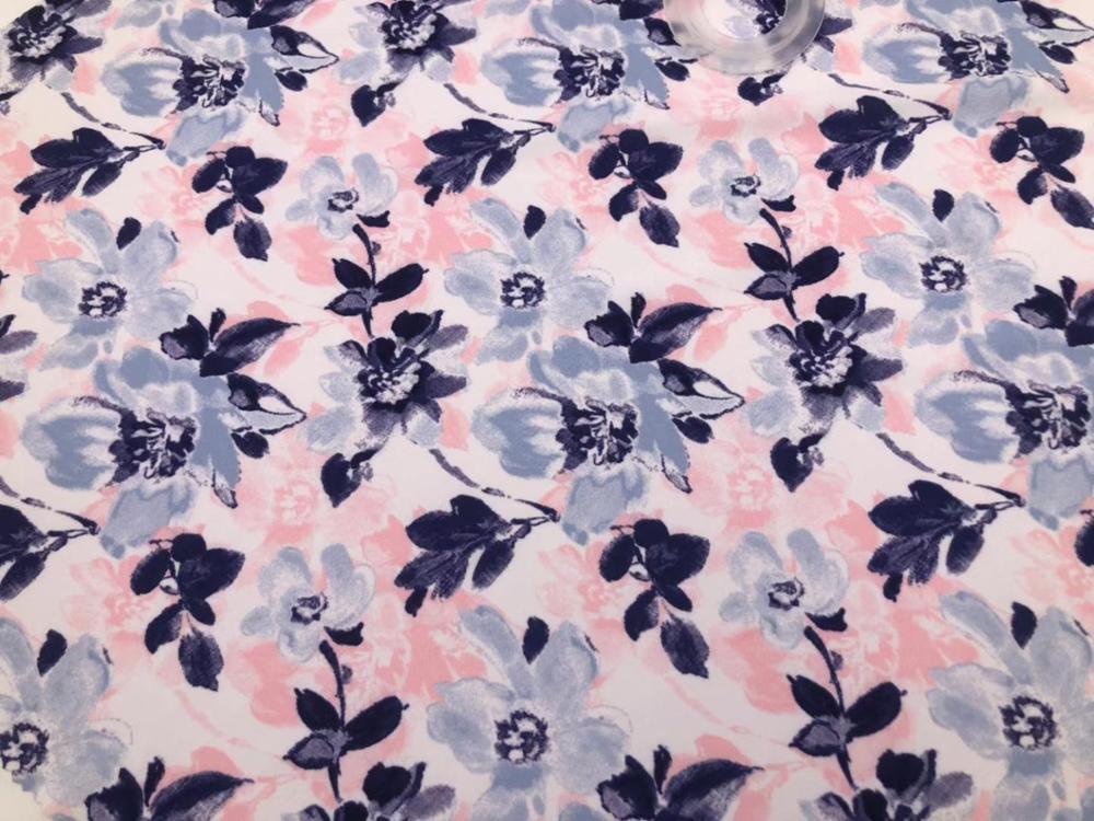 high elastic digital print power net fabric for fashion clothe dress garment textile 90%Polyester 10%Spandex