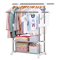 Factory directly commercial clothing racks