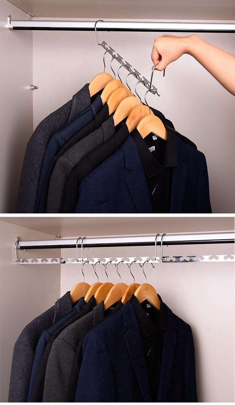 Fabriek Directe Verkoop Metalen Materiaal Aangepaste Kleuren Wonder Hanger Cascading Hanger