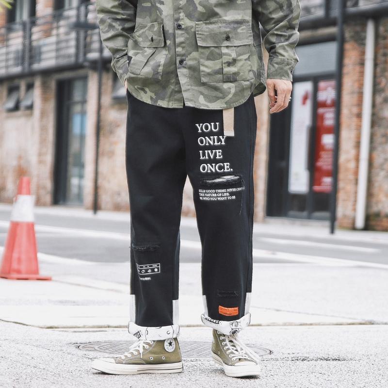 2019 最新のホット販売韓国貨物ビーチショーツパンツメンズカーゴジョガーパンツカスタム印刷された貨物パンツ