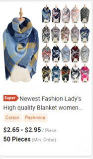 最新のファッションの女性の高品質毛布女性スカーフマルチカラー綿100% パシュミナショールスカーフ