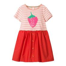 Маленькое платье maven, европейская одежда, модная одежда для девочек, хлопковое платье с длинными рукавами для девочек, осенние платья для де...(Китай)