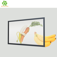 27 zoll transparent LCD video werbung display auf lager