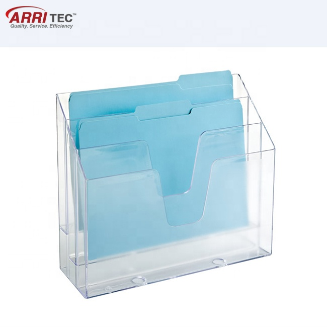 Acrylic Paper Vertical File Holder