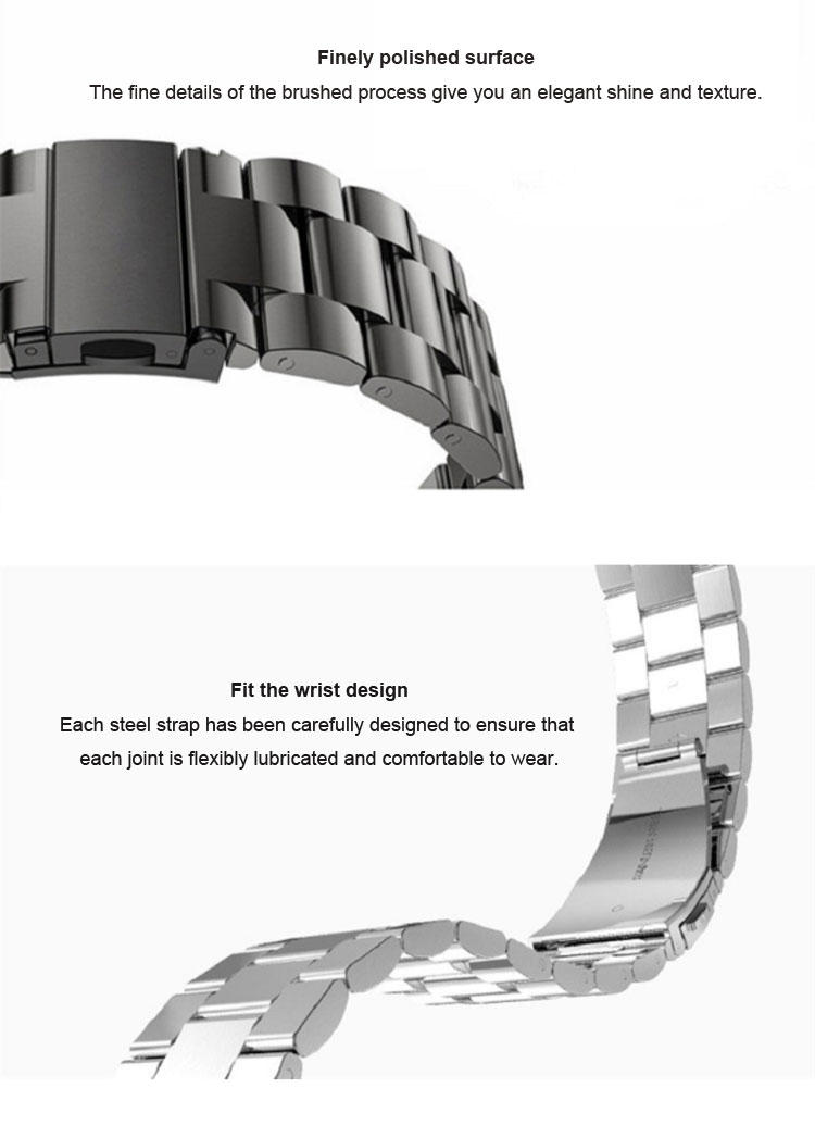 Hot Products 316L Stainless Steel Metal Watch Band for Apple Watch Band Strap