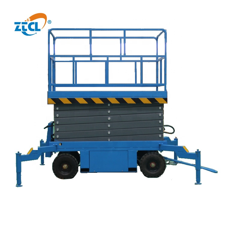 500kg capacity electric scissor lift mobile scissor lift high scissor lift manufacturer