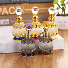 Arabic 15ml High grade perfumes bottle dubai,metal oil bottle with glass stick for sale National style Essential oil bottle