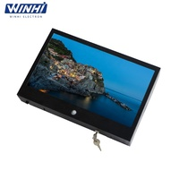 Zhejiang 15.6inch waterproof lcd tv IP15 outdoor lcd display