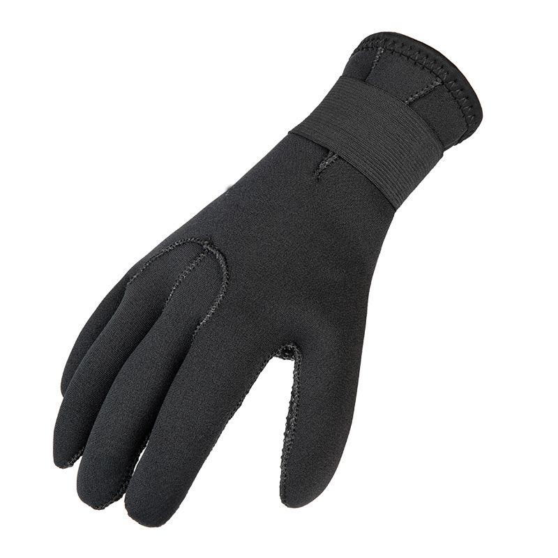 3mm Neoprene Waterproof Anti Slip Flexible 5 Finger Scuba Thermal Super-Elastic Diving Gloves
