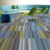 New design washable PP 50x50 office floor commercial nylon carpet tiles