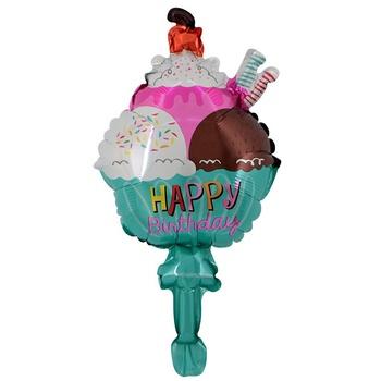 Remarkable New Happy Birthday Cake Shaped Balloons Helium Balloons 75 50Cm Personalised Birthday Cards Arneslily Jamesorg