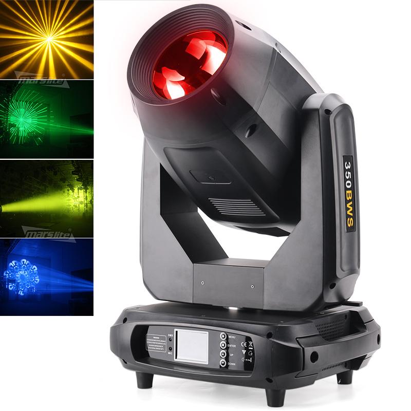 Marslite 350W/380W 17r Beam+Wash+Spot 3in1 Moving head Stage light