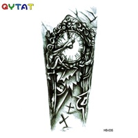 Wholesale QYTAT Men's Non-toxic Temporary Waterproof Body Cool Designs Arm Tattoo