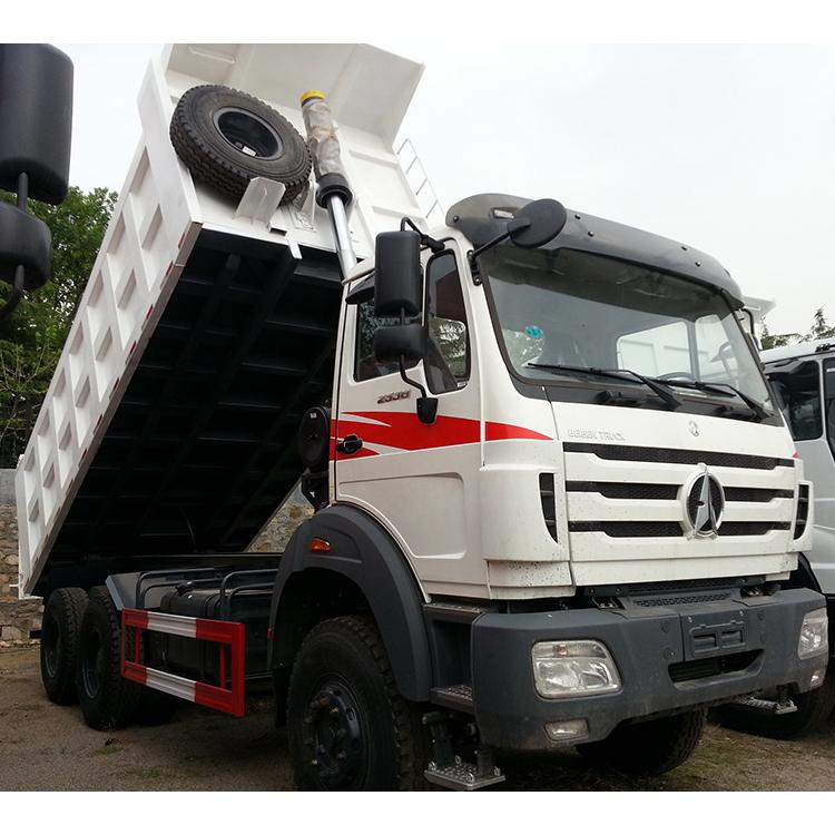 Beiben 30 Ton 6 Wheel Dump Truck Load Volume Capacity 6X4 Tipper Truck