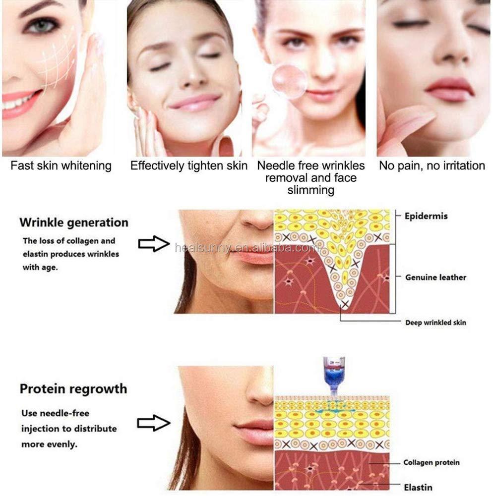 2 ml 10 ml Hyaluronic ปากกาใช้ Hyaluronic Acid ฉีด Dermal Filler สำหรับ Lip และ face
