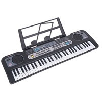 MQ 61 key good sales digital display piano electric keyboard with music