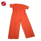 Factory Price Short Sleeve Prison Inmate Coverall Suit